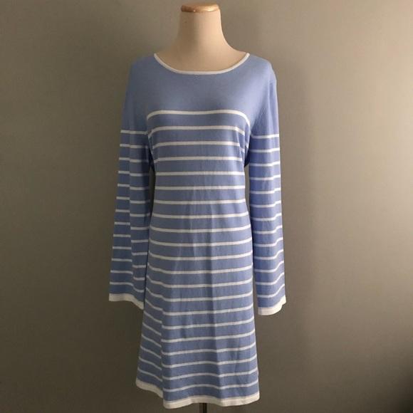 6037ba6de4c NEW STS Sail To Sable Hydrangea White Stripe Dress